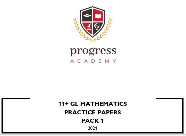 11+ GL Mathematics - Practice Pack 1